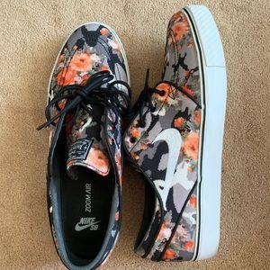Nike Zoom Stefan Janoski PR 'Orange DIGI Floral'